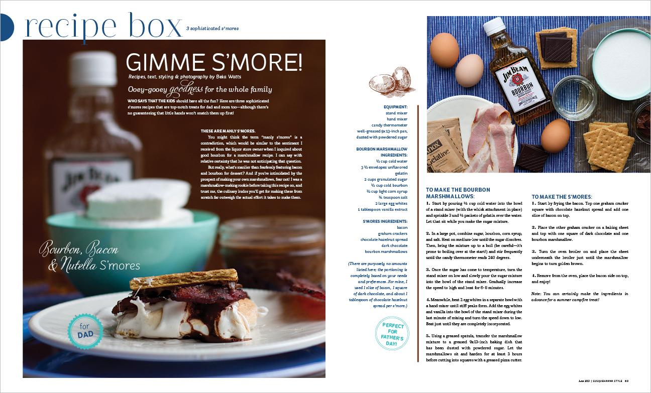 Recipe box alyse moyer graphic design june recipe box forumfinder Images