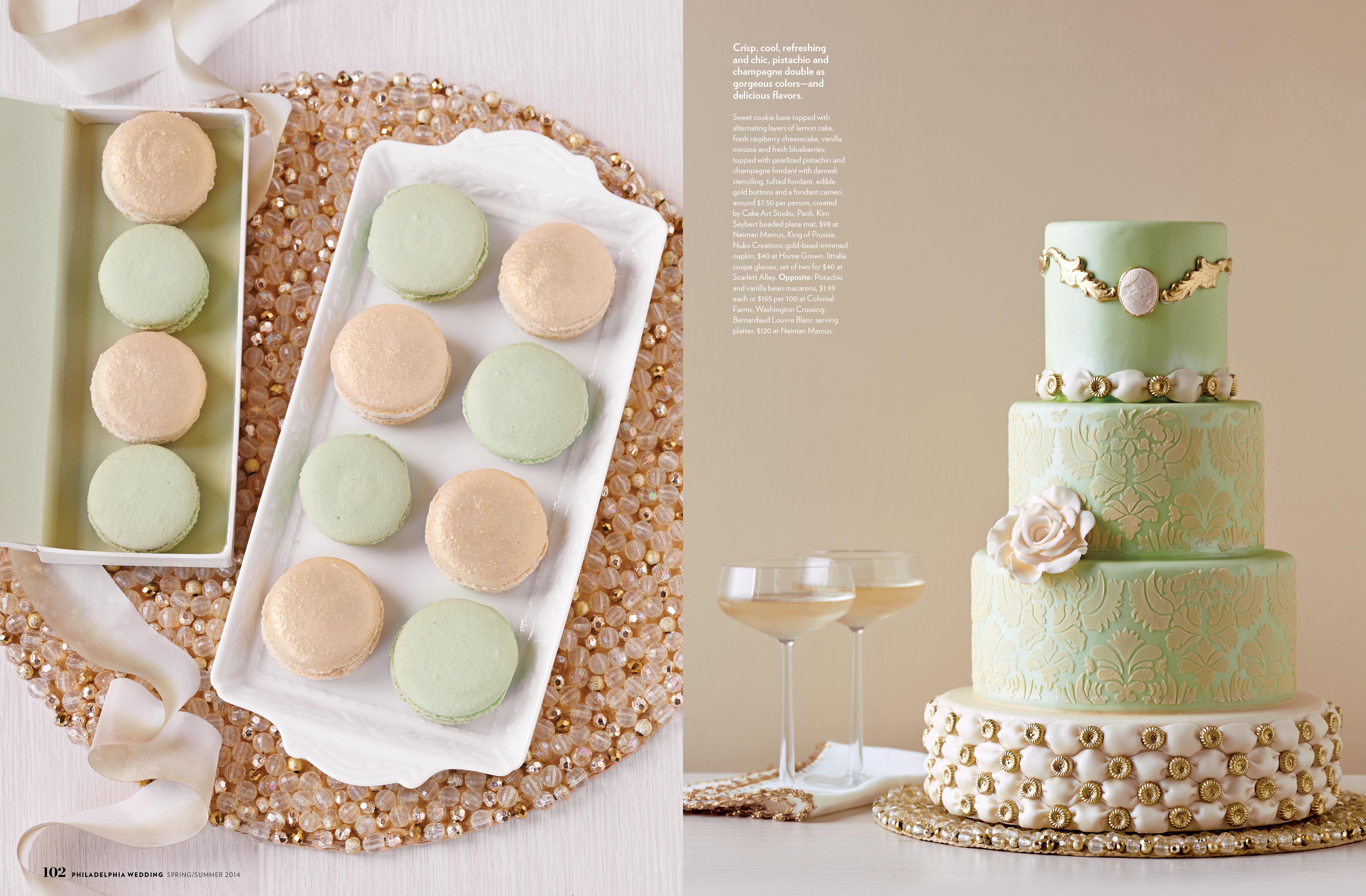 Philadelphia Wedding Cake Feature Alyse Moyer Graphic Design