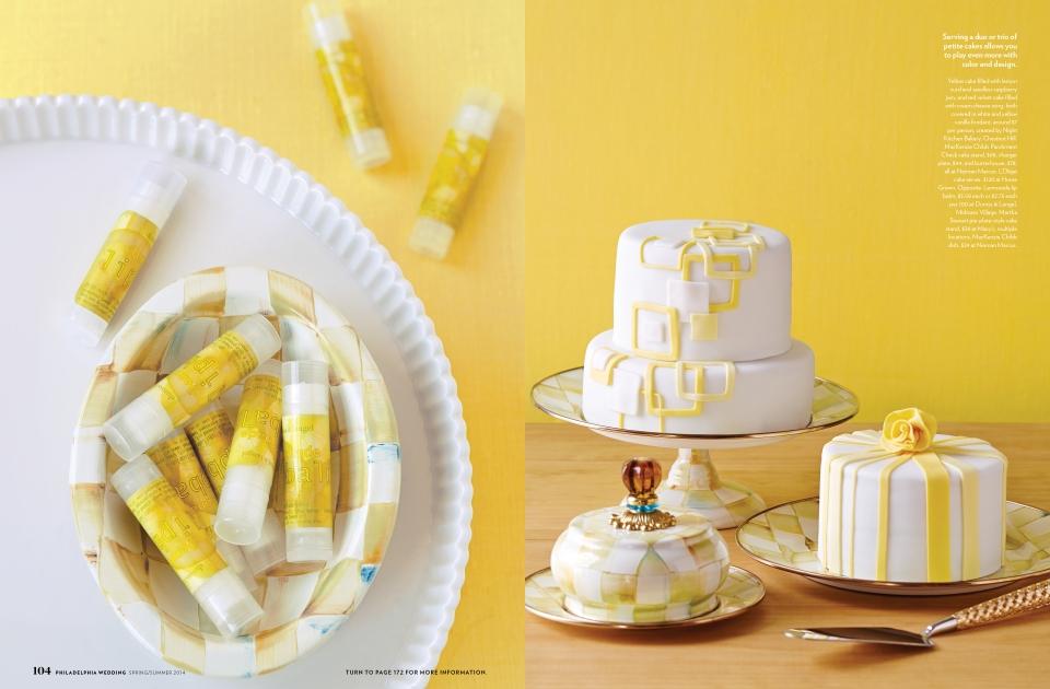 Philadelphia Wedding Cake Feature – Alyse Moyer Graphic Design